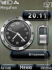 Steel Battery theme screenshot