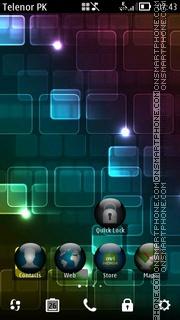 Capture d'écran Abstract thème