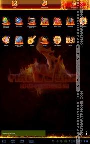Firework 01 es el tema de pantalla