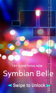 Symbian Belle 02 theme screenshot