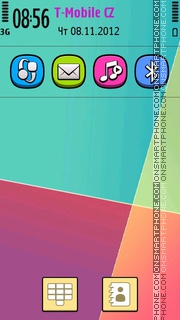 Colorful 13 theme screenshot