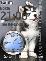 Husky theme screenshot