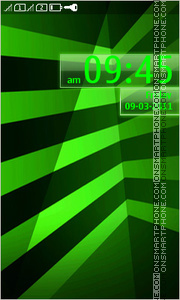 Скриншот темы Green Line