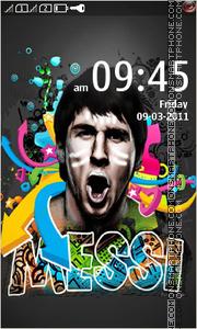 Lionel Messi 04 es el tema de pantalla