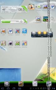 Recycle es el tema de pantalla
