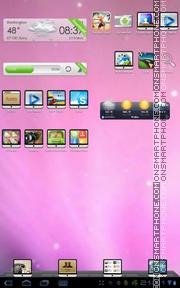 Capture d'écran I-mac thème