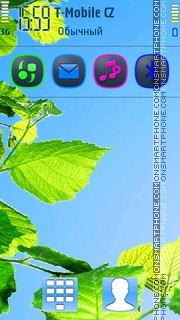 Fresh 5th theme screenshot