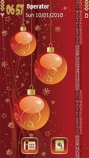 Christmas Balls es el tema de pantalla