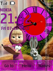 Masha and the Bear By ROMB39 es el tema de pantalla