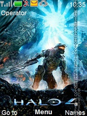 Halo4 es el tema de pantalla