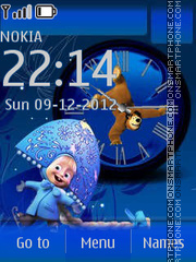 Masha and the Bear 2 By ROMB39 theme screenshot