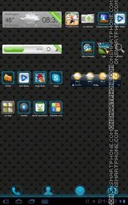 Capture d'écran Blux 01 thème