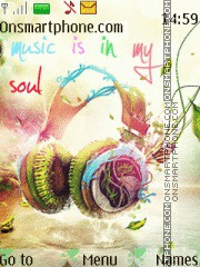 Music is my soul 01 es el tema de pantalla