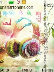 Music is my soul 01 theme screenshot