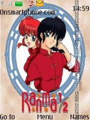 Ranma tema screenshot