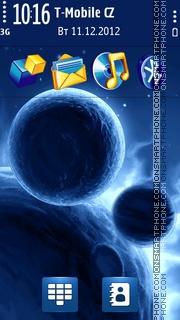Space Blue Planets 5th es el tema de pantalla