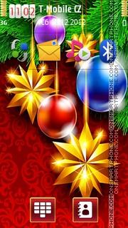 Christmas Decoration theme screenshot