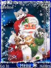 Merry Christmas es el tema de pantalla