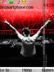 DJ Tiesto 05 theme screenshot