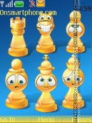 Chess Smileys es el tema de pantalla