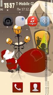 New Year's Tale theme screenshot