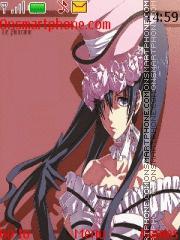 Kuroshitsuji Lady Phantomhive theme screenshot