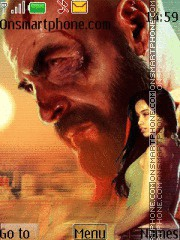 Max Payne 3 with tone theme screenshot
