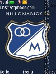 MIllonarios FC theme screenshot