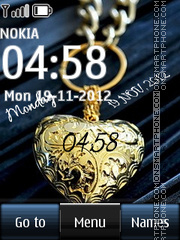 Gold Heart Digital theme screenshot