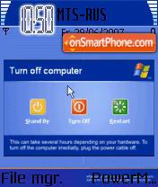 Windows Shutdown Animated theme screenshot