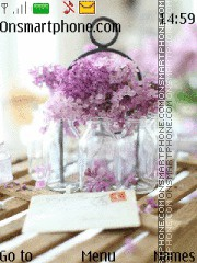Lilac es el tema de pantalla