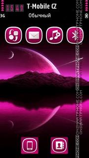 Ethereal Pink es el tema de pantalla