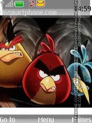 Crazy Birds theme screenshot