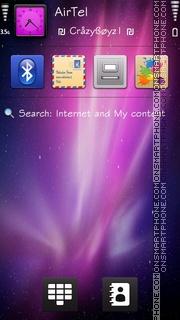 iGalaxy 5th theme screenshot
