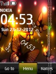 Butterfly Digital 01 theme screenshot