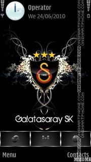 Galatasaray tema screenshot