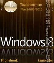 Windows-8 theme screenshot