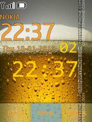 Beer Clock theme screenshot