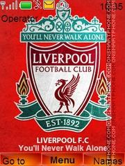 Liverpool Reds theme screenshot