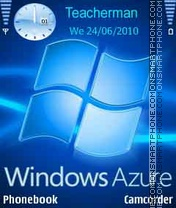 Windows Azure es el tema de pantalla