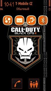 Call Of Duty: Black Ops 2 theme screenshot