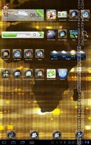 Golden World es el tema de pantalla
