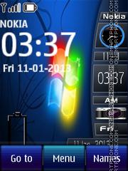 Windows 8 Media es el tema de pantalla