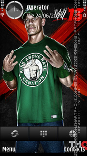 John Cena tema screenshot