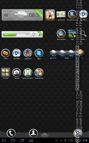 Metroid tema screenshot
