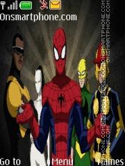 Ultime Spiderman theme screenshot