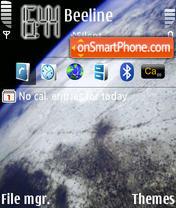 Earth theme screenshot