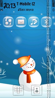 Snowman 11 tema screenshot