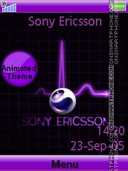 Sony Ericsson es el tema de pantalla