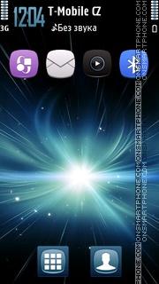 Starry Explosion 5th es el tema de pantalla